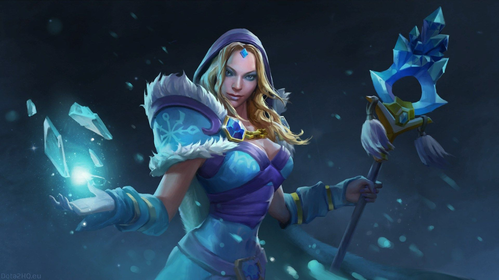 Crystal Maiden Poster